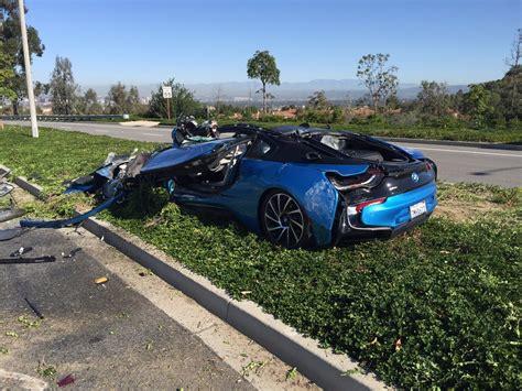 bmw cars news bmw  destroyed  freak crash