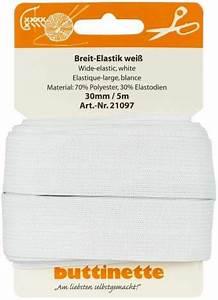 Gummiband Länge Berechnen : buttinette gummiband breit elastik weiss breite 30 mm l nge 5 m online kaufen ~ Themetempest.com Abrechnung