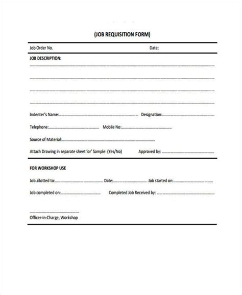 Comfortable Personnel Requisition Form Template Photos  Wordpress