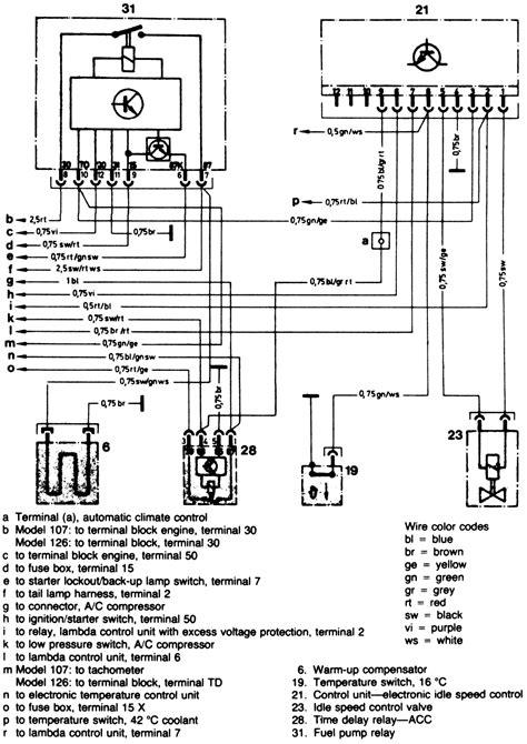 Mercede 280sl Fuse Diagram by 280sl Vacuum Diagram Wiring Diagrams