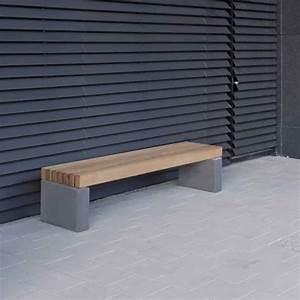 Mobilier Bois Design : banquette toulouse mobilier urbain ~ Melissatoandfro.com Idées de Décoration