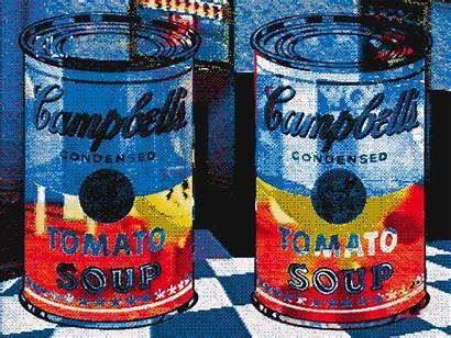 Animated Gifs Amazing Pop Andy Warhol Illustration