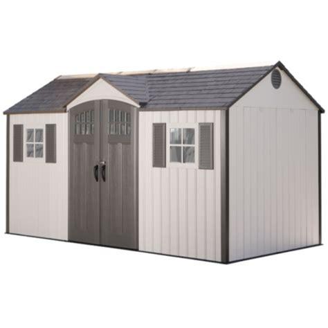 lifetime 15x8 shed sams club lifetime 15x8 new style storage shed kit w floor 60138