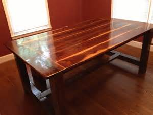 white black walnut farmhouse table diy projects