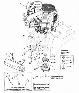 Simplicity 5900764   61 U0026quot  Mower Parts Diagram