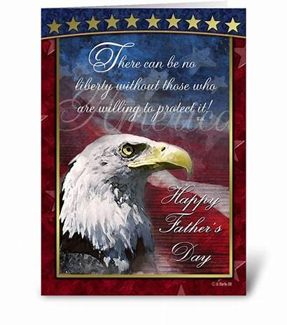 Patriotic Father Cards Card Greeting Fathers Send
