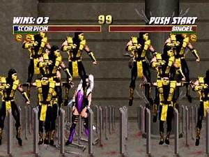 Mortal Kombat Trilogy - Scorpion - Group Assault Fatality ...