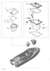Sea Doo 2012 Rxt - Rxt 260  Rs    17cs   Storage Compartments