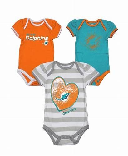 Clothes Miami Dolphins Bodysuit Background Vest Pcs