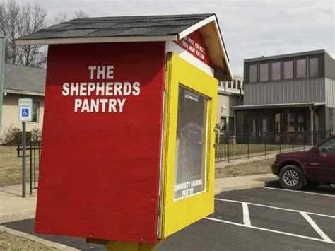Pantry Locations Outdoor Free Pantries Fill Hunger Need In Kentucky Communities