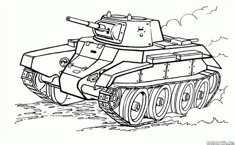 coloring page tanks