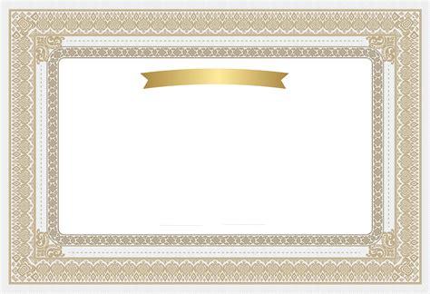 Certificate Frames Clipart