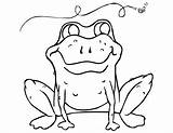 Frog Coloring Printable Toad Tree Crazy Template Colouring Mask Cycle Sampletemplatess Bestcoloringpagesforkids 48kb 791px 1024 sketch template