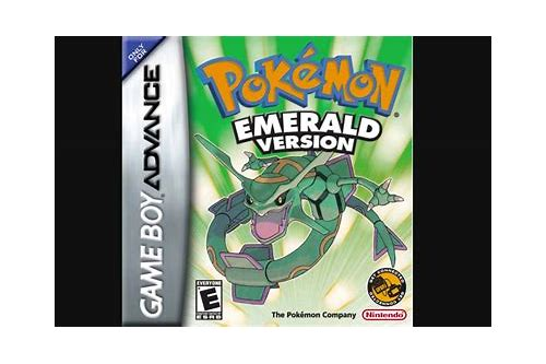pokemon emerald gba rom free downloads