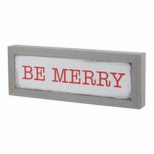 Holiday, Time, Be, Merry, Framed, Table, Top, Sign, Christmas, Decoration, 5, U0026quot, X, 14, U0026quot
