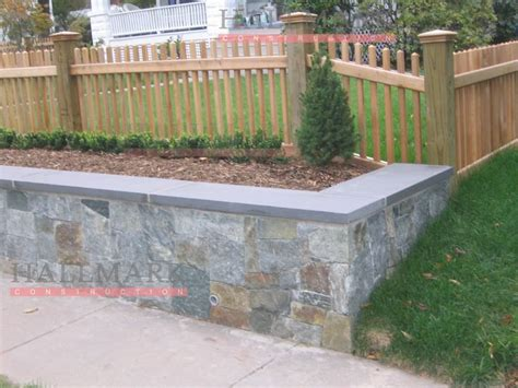 retaining wall fence  top retaining wall  fence