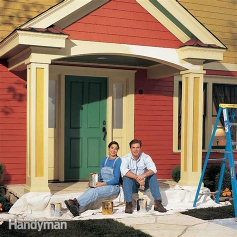 Exterior Painting Tips and Techniques   The Family Handyman