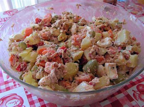 recette cuisine russe recette de salade russe par kekeli