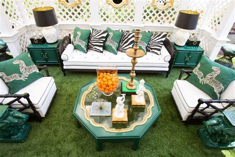 palm chic with kennedy living the glam pad