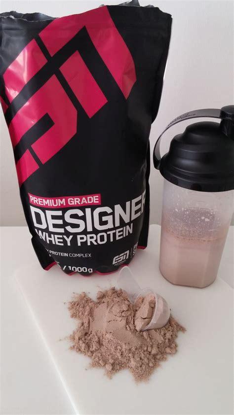 ESN Designer Whey Protein Test  Der Bestseller im Check