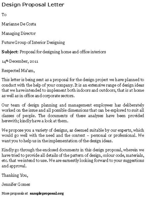 interior design proposal interior designer