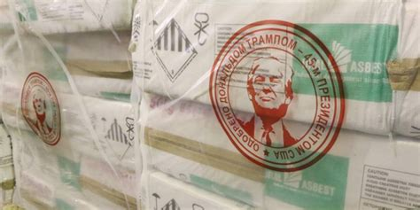 russian mining company places trumps seal  approval