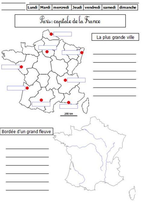 Carte Des Fleuves De Ce2 by Les Fleuves En Ce1 De Monsieur Mathieu Gs Cp