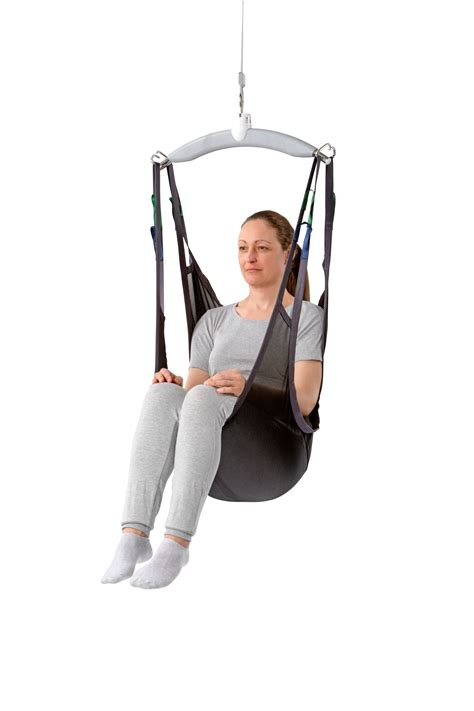 Sitting On The by Sling For Leaving In Place The Patient