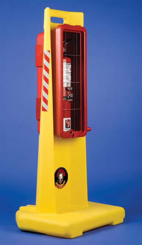 Portable Storage Cabinet by Strike First Centurion 10 Portable Fire Extinguisher Stand