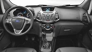 Ford EcoSport 2016 dimensions, boot space and interior