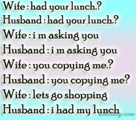 wife husband funny jokes  nigeria daily quotes