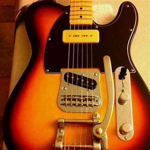 Tele With Bigsby And P90 In The Neck