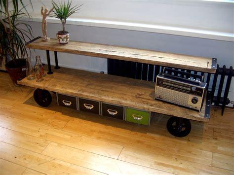 vintage media console vintage industrial media console 3245