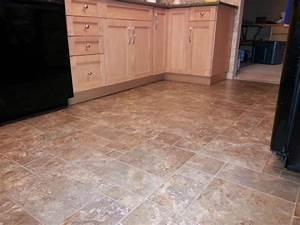 The best kitchen flooring options for 2013 for Kitchen vinyl flooring