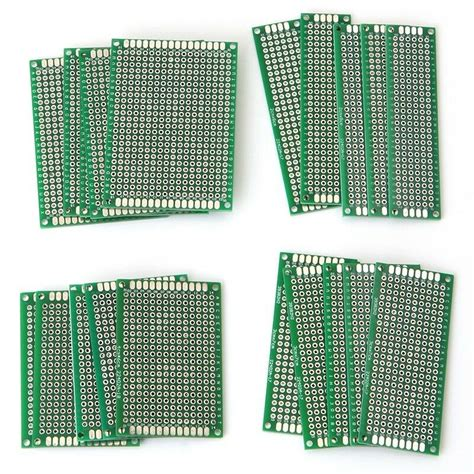 Pcs Size Double Side Protoboard Circuit Universal Diy