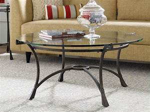 Round glass coffee table round glass coffee table wood for Very small round coffee table