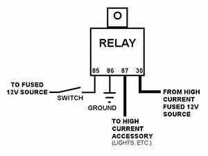 12v Relay Wiring Diagram Spotlights