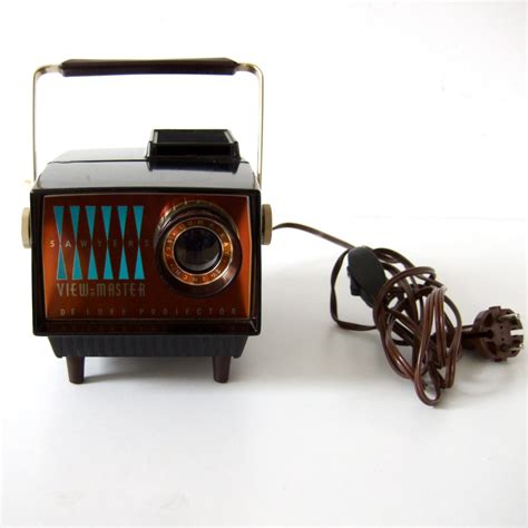 vintage 1960 s sawyers view master deluxe projector by pukpuk