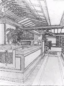68 best images about Frank Lloyd Wright drawings on ...