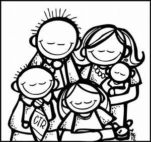 Family Praying Clipart – 101 Clip Art