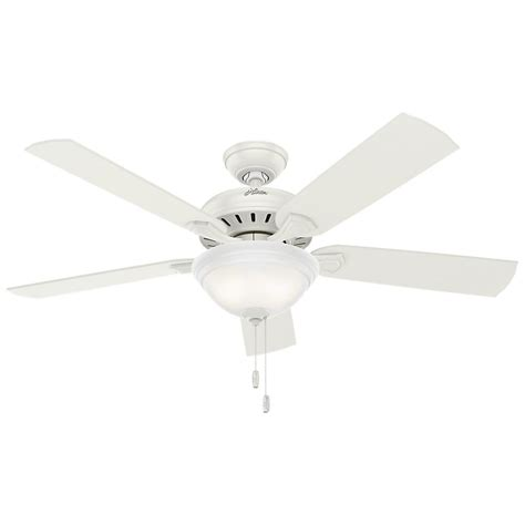 White Ceiling Fans With Lights by Trimount 52 In Indoor White Ceiling Fan With Light Kit