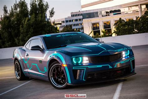 2013 SS Customs Chevrolet Camaro tuning muscle tron movies