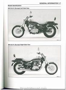 2001 Kawasaki Eliminator 125 Manual