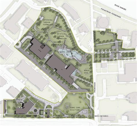 colour landscape architects graphisoft park by garten studio 25 site plan color functions 171 landscape architecture works