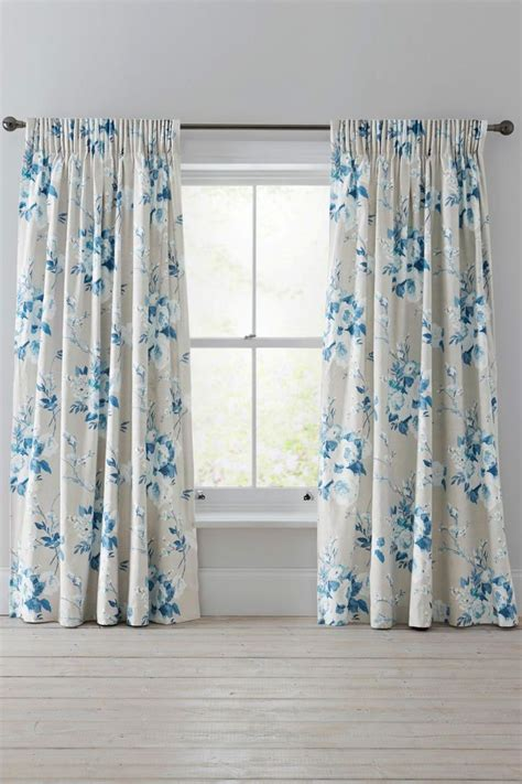 ideas  teal pencil pleat curtains