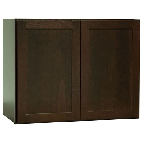 Hton Bay Shaker Wall Cabinets by Hton Bay Shaker Assembled 30x23 5x15 In Wall Bridge