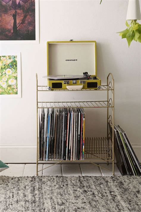 vinyl record shelf vinyl record storage shelf outfitters vinyls and 3286