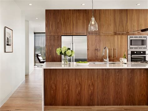 wood veneer kitchen cabinets 10 amazing modern kitchen cabinet styles 1614