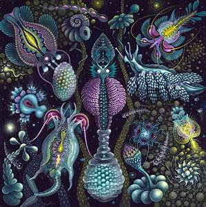 The dense microcosmic worlds of painter robert s connett for The dense microcosmic worlds of painter robert s connett