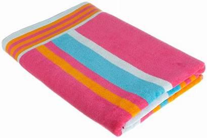 Towel Clipart Beach Clip Kid Folded Pink